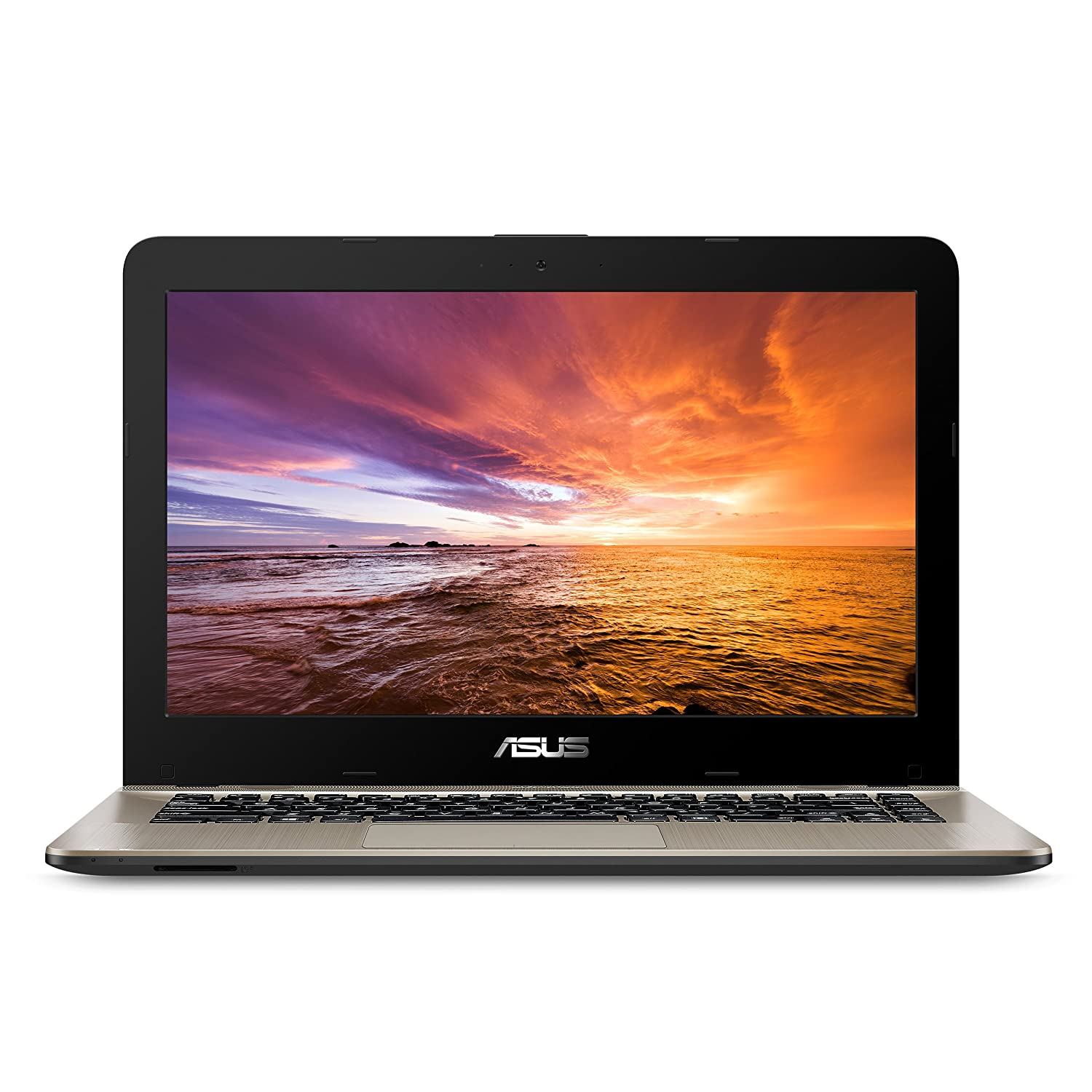 "Asus Vivo Book F441 Light And Powerful Laptop, Amd A9 Dual Core Processor (Boost Up To 3.6 Ghz), Radeon R5 Graphics, 8 Gb Ddr4 Ram, 256 Gb Ssd, 14"" Fhd Display, Windows 10,F441 Ba Ds94 by Asus"