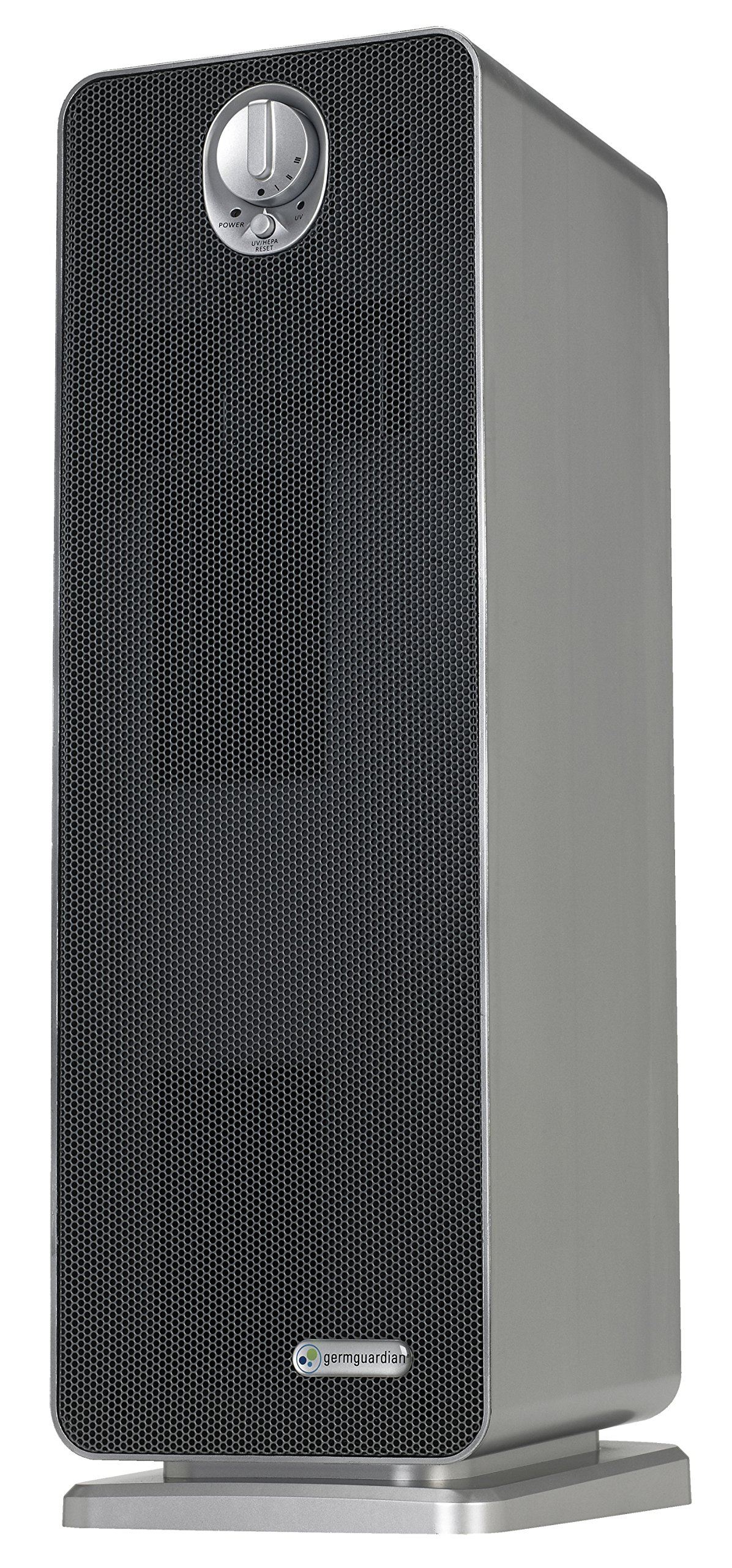"""GermGuardian AC4900CA 22"""" 3-in-1 Full Room Air Purifier, HEPA Filter, UVC Sanitizer, Home Air Cleaner Traps Allergens for Smoke, Odors,Mold, Dust, Germs, Smokers, Pet Dander, Energy Star Germ Guardian"""