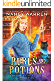 Purls and Potions: A paranormal cozy mystery (Vampire Knitting Club Book 5)