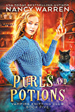 Purls and Potions: A paranormal cozy mystery (Vampire Knitting Club Book 5) (English Edition)