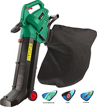 Leaf Blower, aspirador, cippatrici y sopladora de jardín, cinturón y Catcher 2800 W: Amazon.es: Bricolaje y herramientas