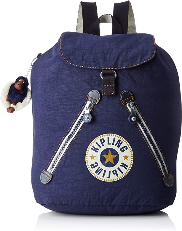 Kipling - Fundamental, Mochilas Mujer, Azul (Active Blue Bl): Amazon.es: Zapatos y complementos