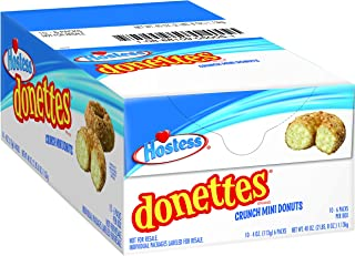 product image for Hostess Donettes Mini Donuts, Crunch, 4 Ounce, 10 Count