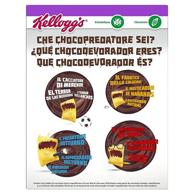 Kelloggs Cereales Krave Roulette - 2 Paquetes de 375 gr - Total: 750 gr: Amazon.es: Alimentación y bebidas