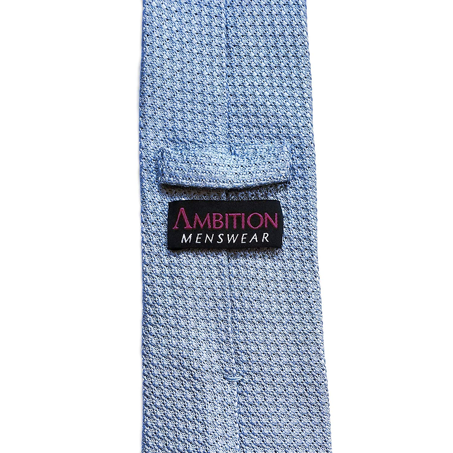 Amazon.com: ITALIANO Grenadine Seda Corbata Por Ambition ...