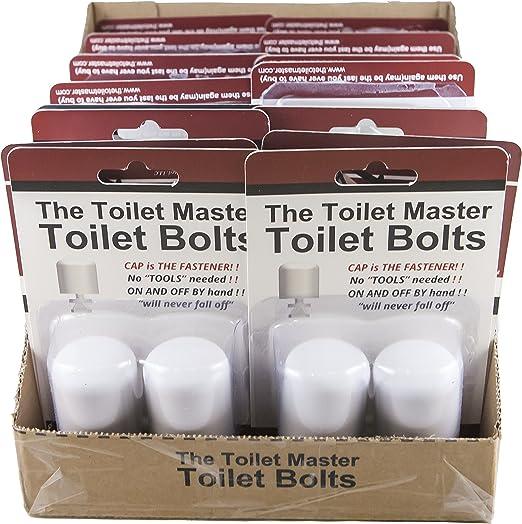Amazon.com: La herramienta de aseo baño pernos Master ES UNA ...