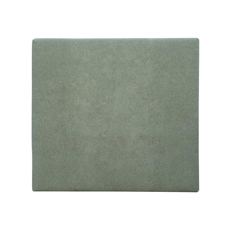Decowood Cabecero Liso, Poliéster, Verde, Individual, 90x80x7,5 cm: Amazon.es: Hogar