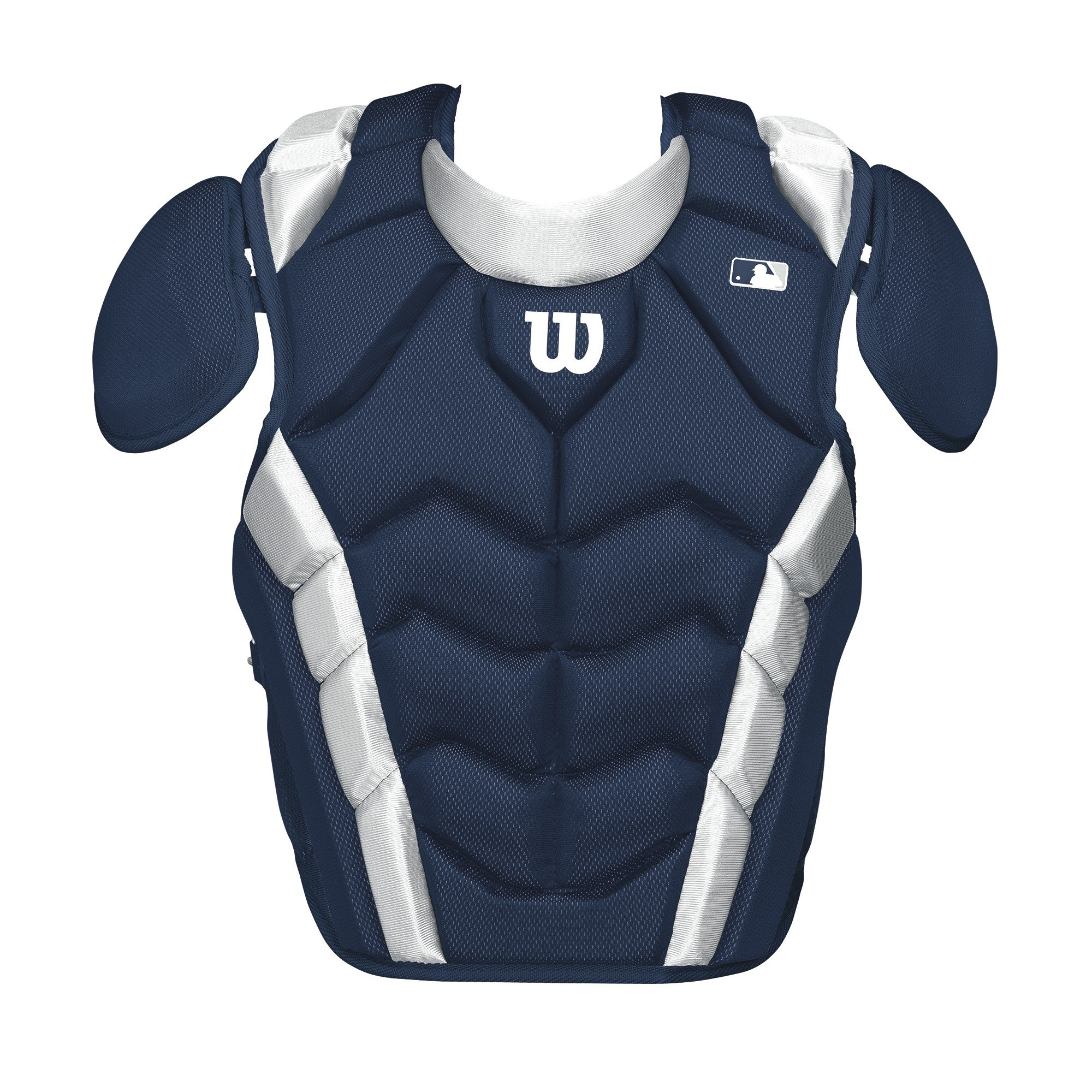 Wilson Pro Stock Chest Protector, Navy, 15.5''