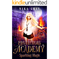 Sparking Magic (Protectors Academy Book 1) book cover