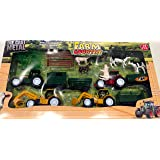 Die Cast Farm vehicles & Farm animals. Tractor and animal farm set