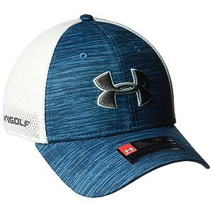 c11b0f22d97 Under Armour 2016 Golf Mesh Stretch 2.0 Hat Structured Mens Golf Cap
