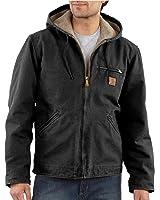 Carhartt Men's Sherpa Lined Sandstone Sierra Jacket J141