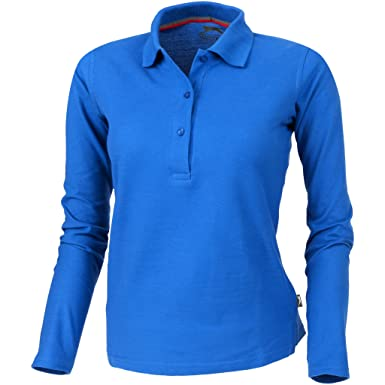 frische Stile Online kaufen Kauf authentisch Slazenger Damen Point Langarm Polo Shirt