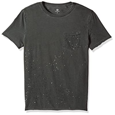 AG Adriano Goldschmied Men's Anders Spallter Short Sleeve Pocket Crew Tee: Clothing