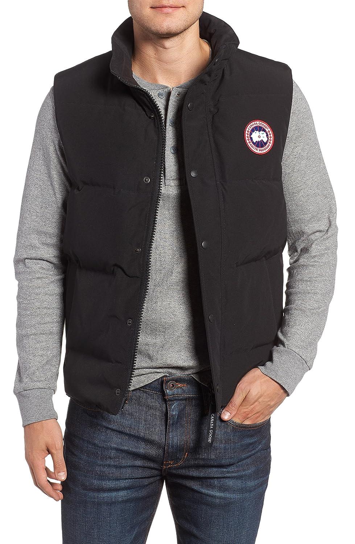 [カナダグース] メンズ ジャケットブルゾン Canada Goose Garson Quilted Down Vest [並行輸入品] B07C3H2BR6 Small