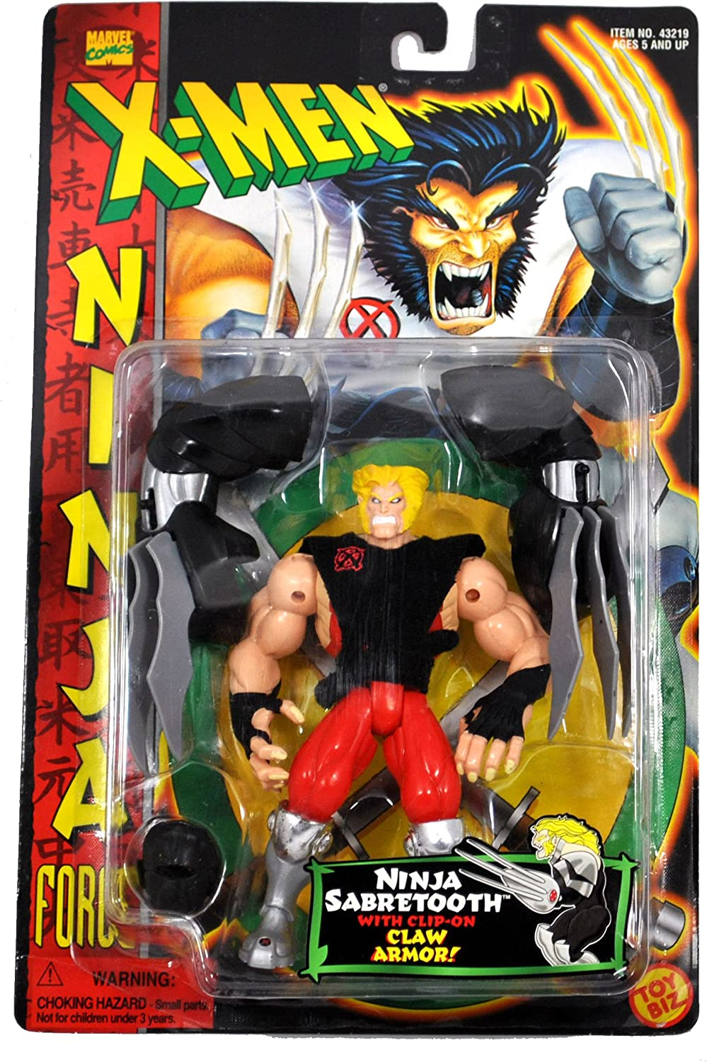 Amazon.com: Marvel Comics Year 1996 X-MEN Ninja Force Series ...