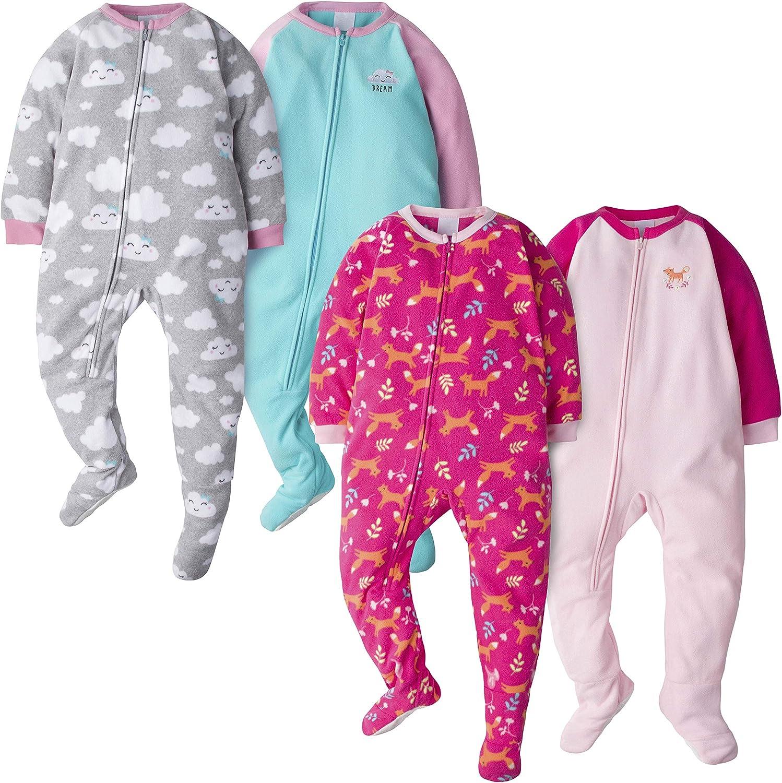 Gerber Baby Boys' 4-Pack Blanket Sleeper