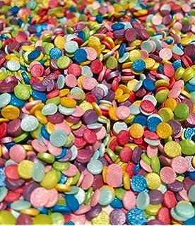 Edible 3mm Matt Funfetti Confetti Cupcake Sprinkles Cake Toppers Decoration Dots