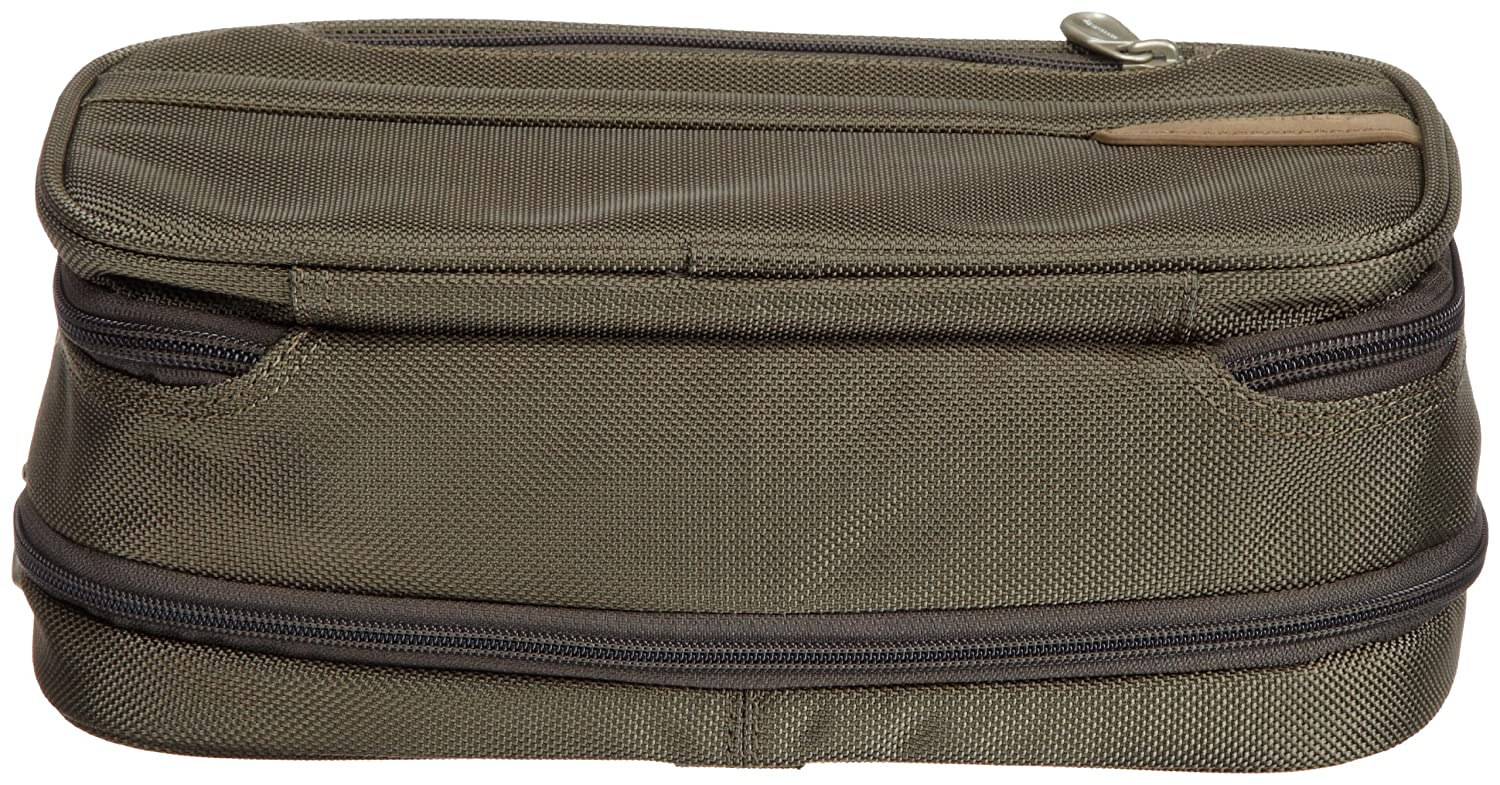Briggs & Riley 115X-Black-6x10.5x4.5 Expandable Toiletry Kit