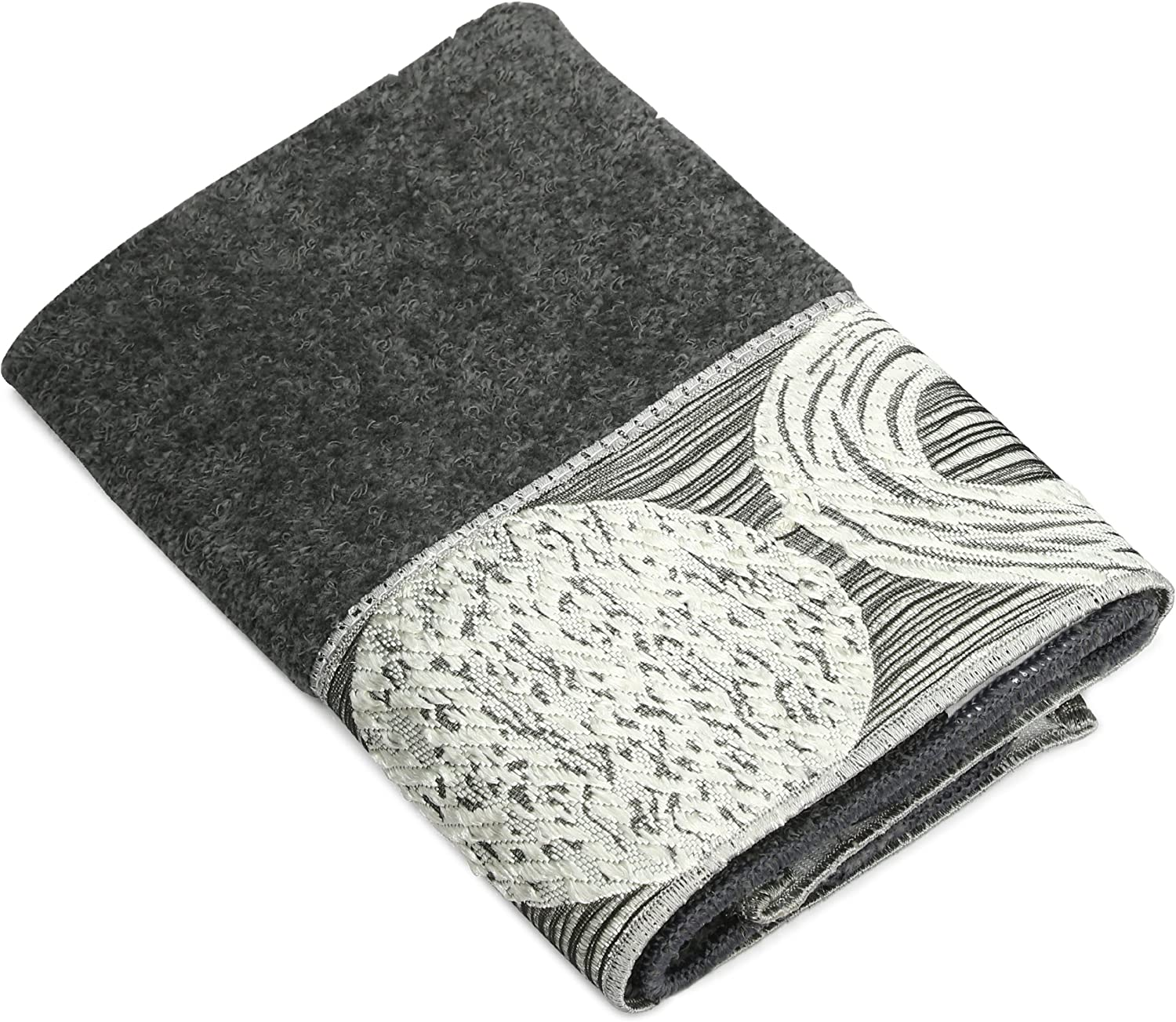 Avanti Linens Galaxy Wash Cloth, Granite