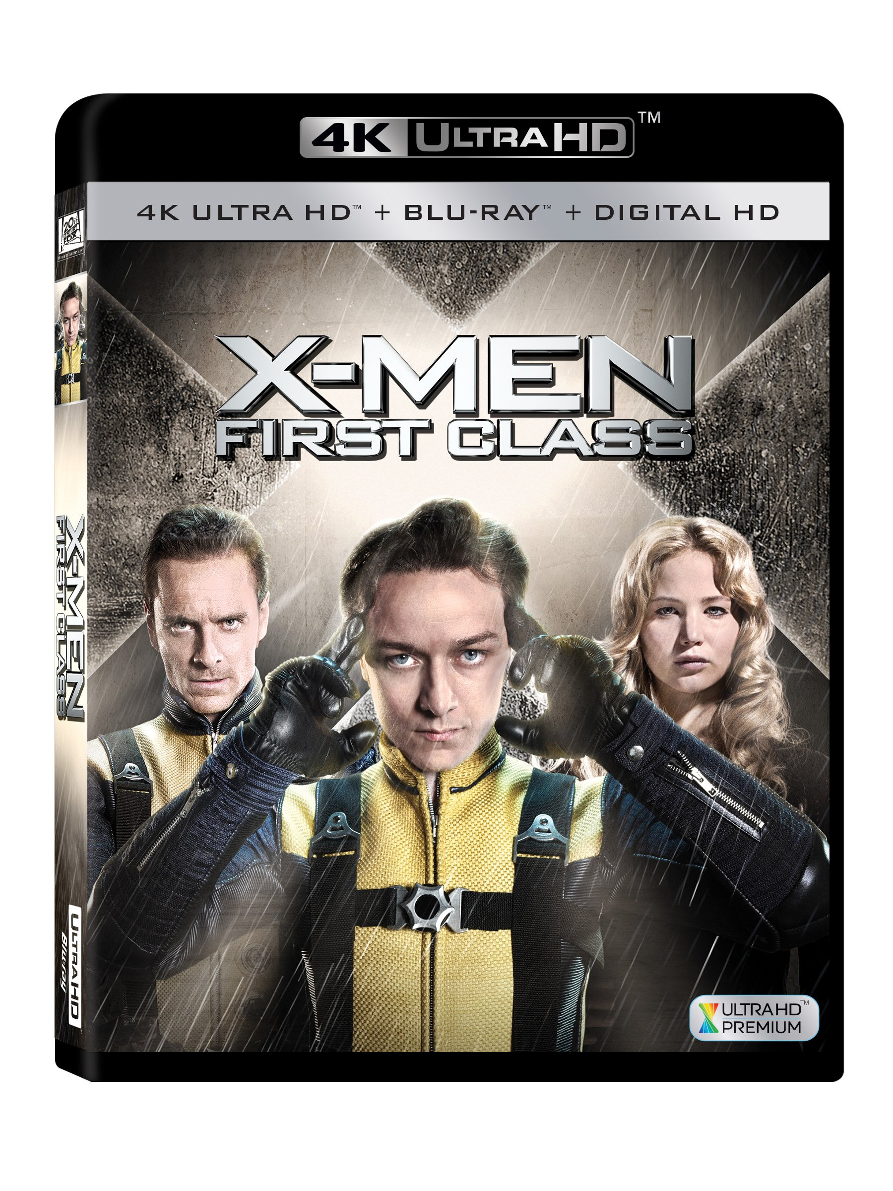 4K Blu-ray : X-men: First Class (With Blu-Ray, 4K Mastering, AC-3, Digital Theater System, Dolby)