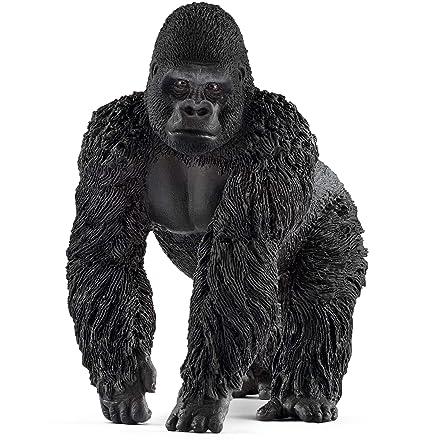 Gorila MachoColor Schleich De Figura 4cm Negro9 BoxWrCed