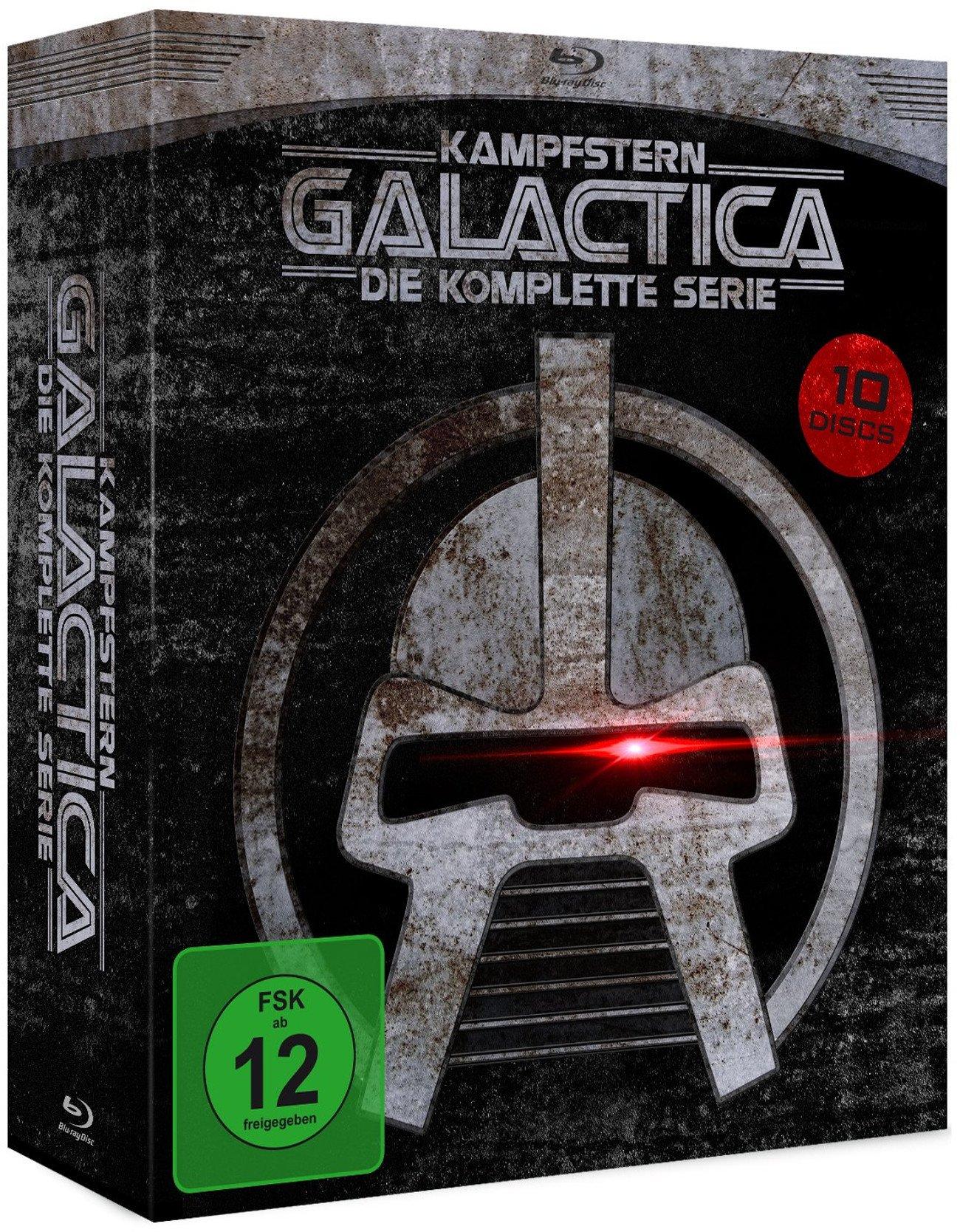 Battlestar Galactica / Galactica 1980 : The Complete Series (9 Blu-ray + 1 DVD) (Import)