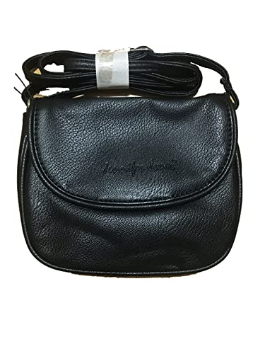 26772986c69cf Bag Street Kleine Damen Handtasche Umhängetasche Überschlag Schultertasche  Clutch Damentasche Schwarz (18 x 14 cm