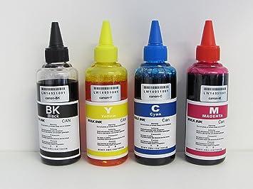 Tinta compatible para recarga cartuchos impresora Canon PG 510 y ...