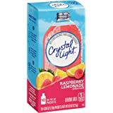 Crystal Light Raspberry Lemonade Drink Mix, 10 Count per pack, 0.8 Ounce, Pack of 6