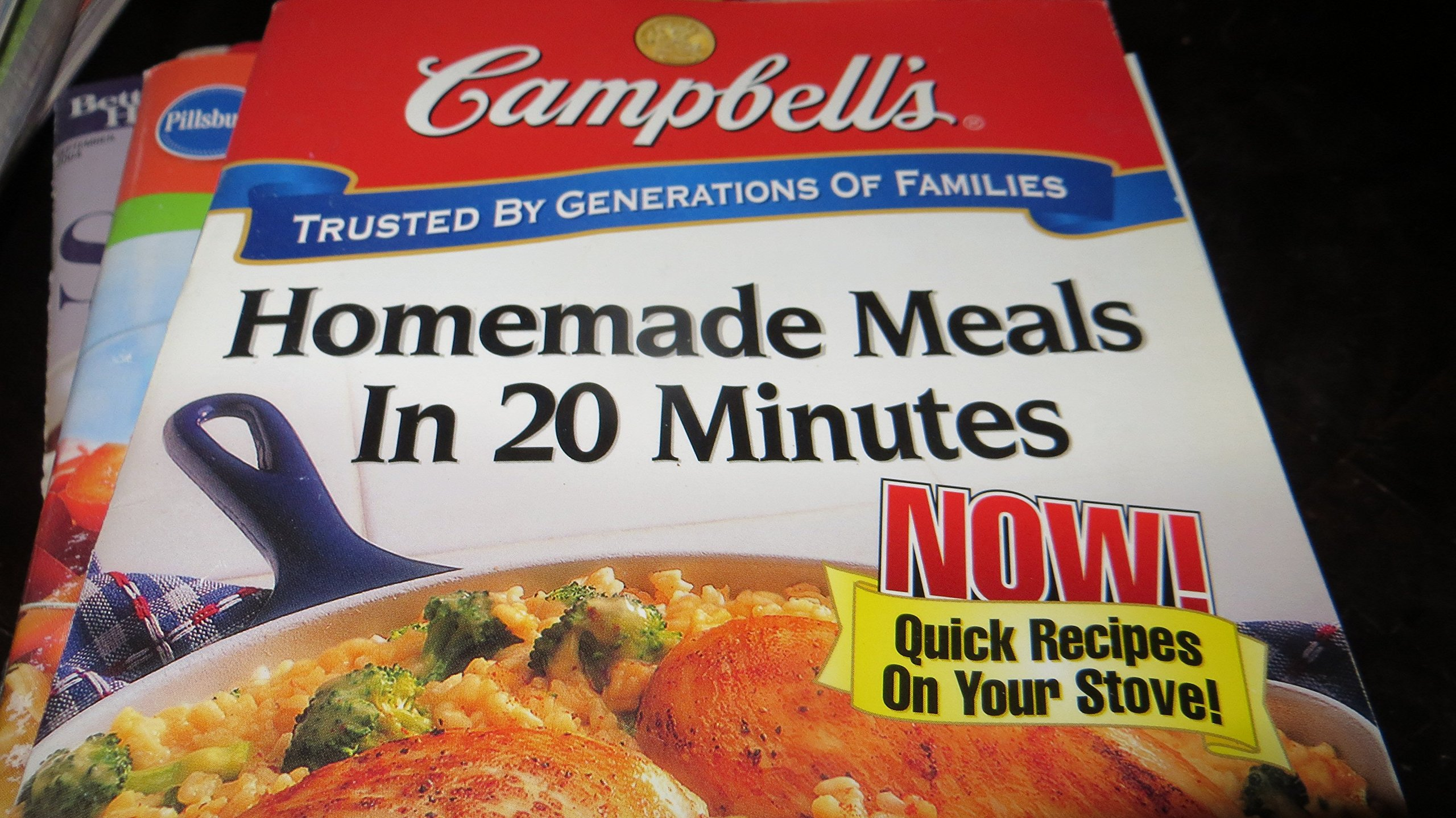 Read Online CAMPBELL'S HOMEMADE MEALS IN 20 MINUTES Now! Quick Recipes on Your Stove ebook