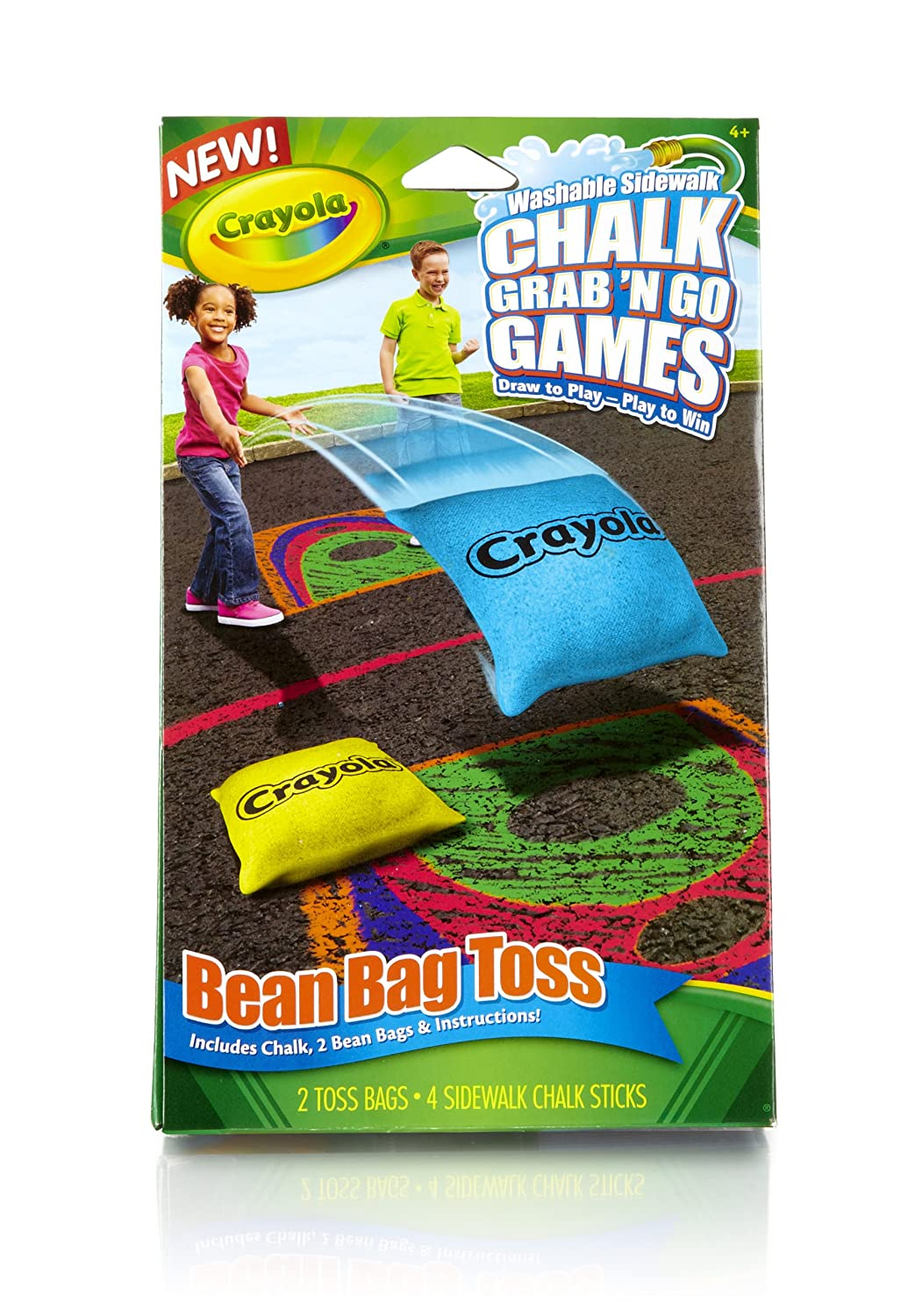 Crayola Bean Bag Toss Chalk Grab and Go Games Binney /& Smith 03-5091