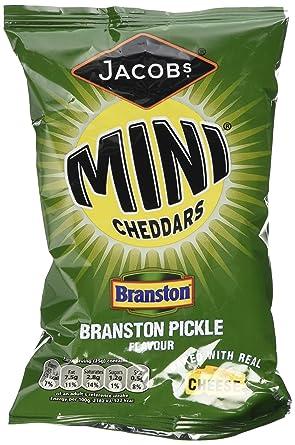 Branston cheddars