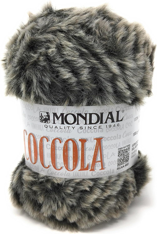 Ovillo de Lana de cocodrilo Mondial 65 m 100/% Microfibra Agujas 8-9 100 g
