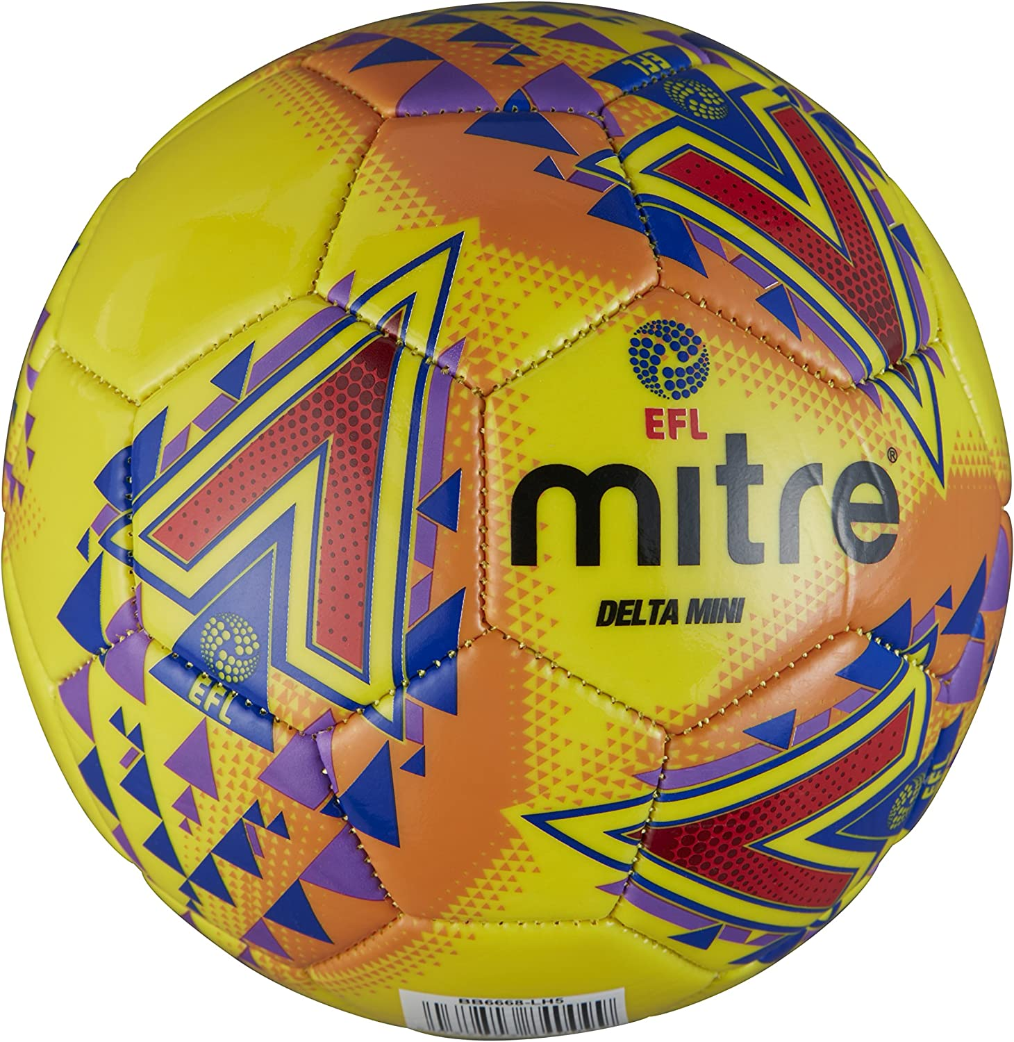 Mitre Mens Efl Delta Mini Football, Yellow: Amazon.es: Deportes y ...