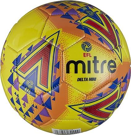 Mitre Mens Efl Delta Mini Football, Yellow: Amazon.es: Deportes y ...