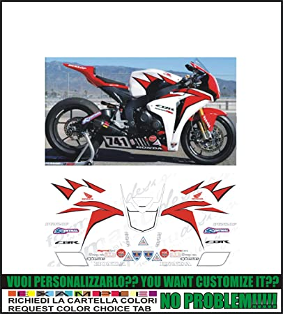 ability to customize the colors Kit adesivi decal stickers compatibili CBR 600 RR 2008 HONDA RACING