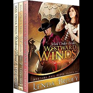 Montana Mail Order Brides Romance Box Set (Westward Series)- Books 1 - 3: Historical Cowboy Western Mail Order Bride…
