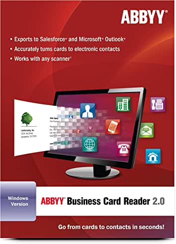 Amazon abbyy usa contact management business office software abbyy business card reader for education download pc download reheart Images