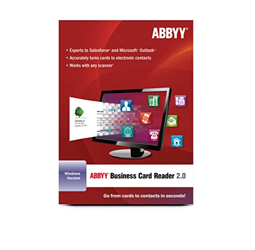 Amazon abbyy business card reader download software reheart Gallery