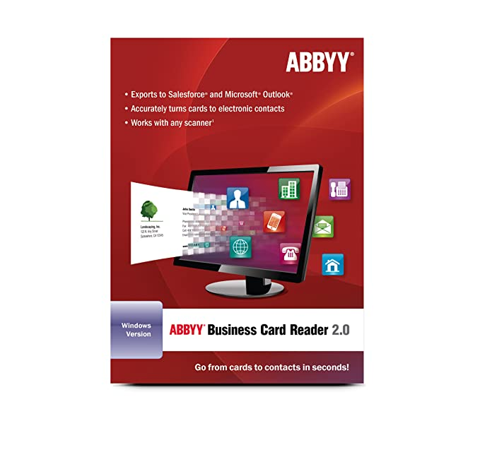 Amazon abbyy business card reader download software reheart Images