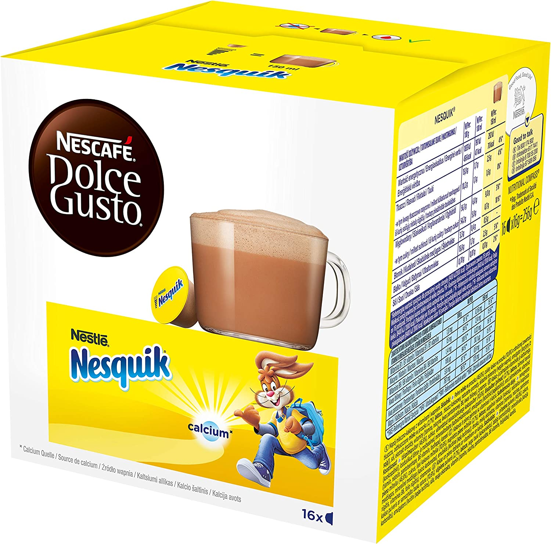 NESCAFÉ Dolce Gusto Nesquik, Pack de 3 x 16 Cápsulas - Total: 48 Cápsulas de Café: Amazon.es: Alimentación y bebidas