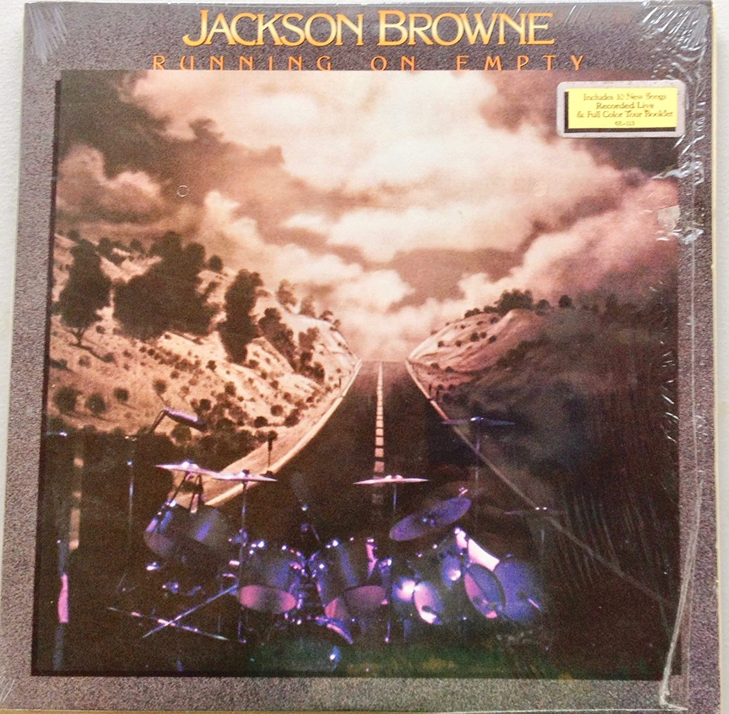 LP Jackson Browne–Running on Empty, 1977