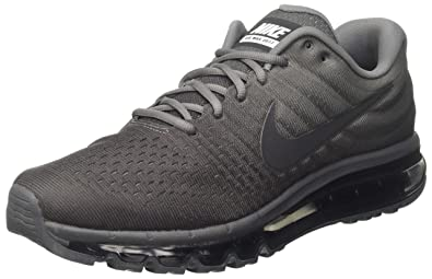 new products 460bf 75aed Nike Mens Air Max 2017 Running Shoes (7.5 M US, Cool Grey Anthracite