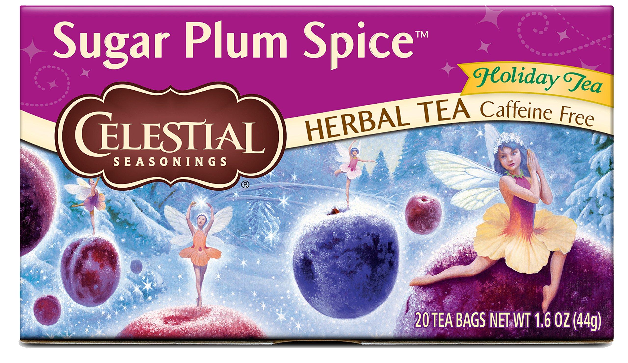 Celestial Seasonings Herbal Tea, Sugar Plum Spice, 20 Count
