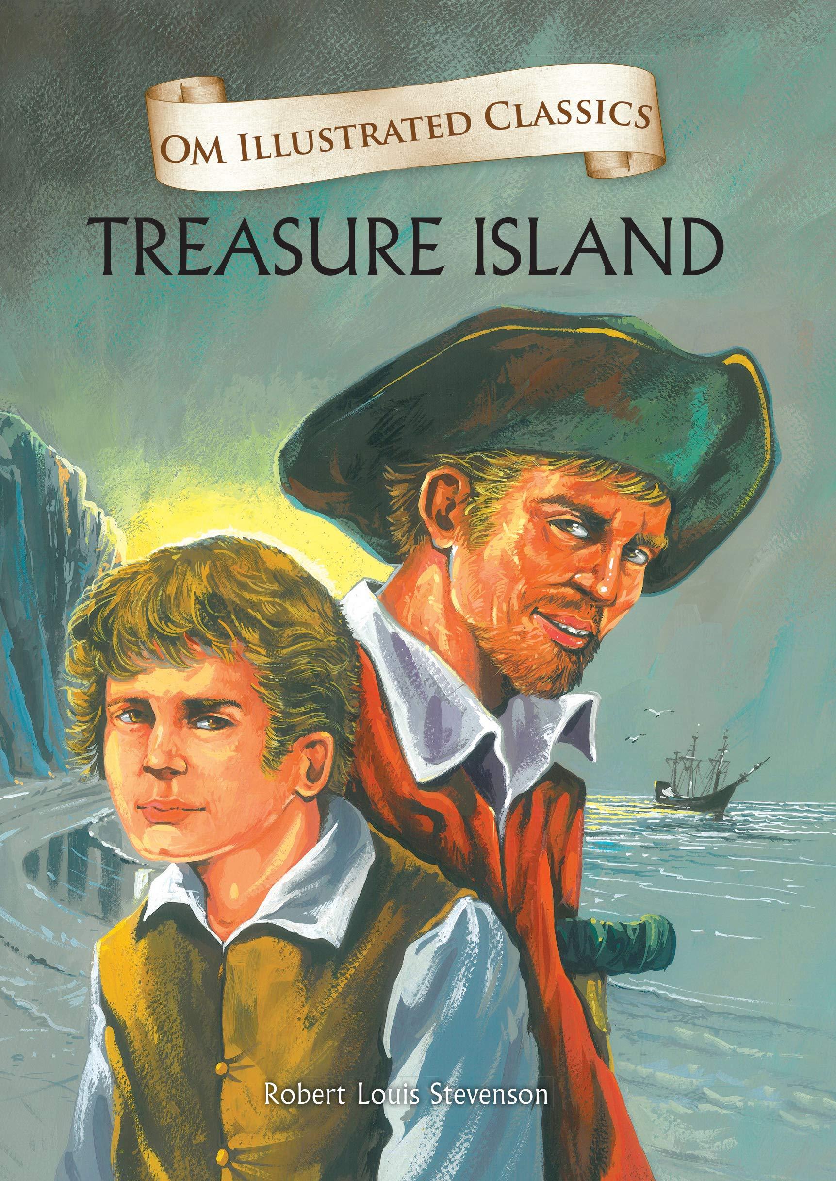 Treasure Island : Illustrated abridged Classics (Om Illustrated Classics)
