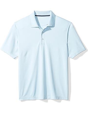 8ec8353d00 Amazon Essentials Men s Regular-Fit Quick-Dry Golf Polo Shirt