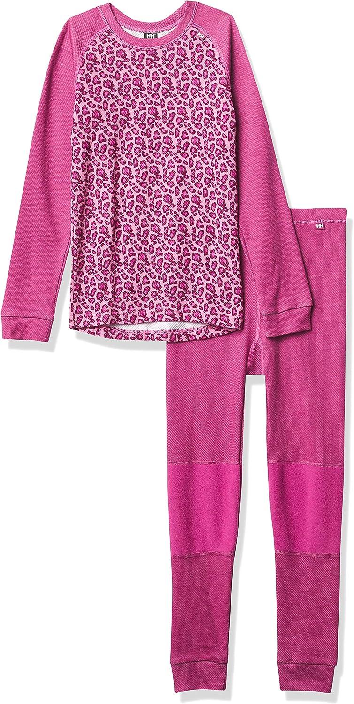 Helly-Hansen Kids' Hh LIFA Merino Wool 2-Layer Thermal Baselayer Set