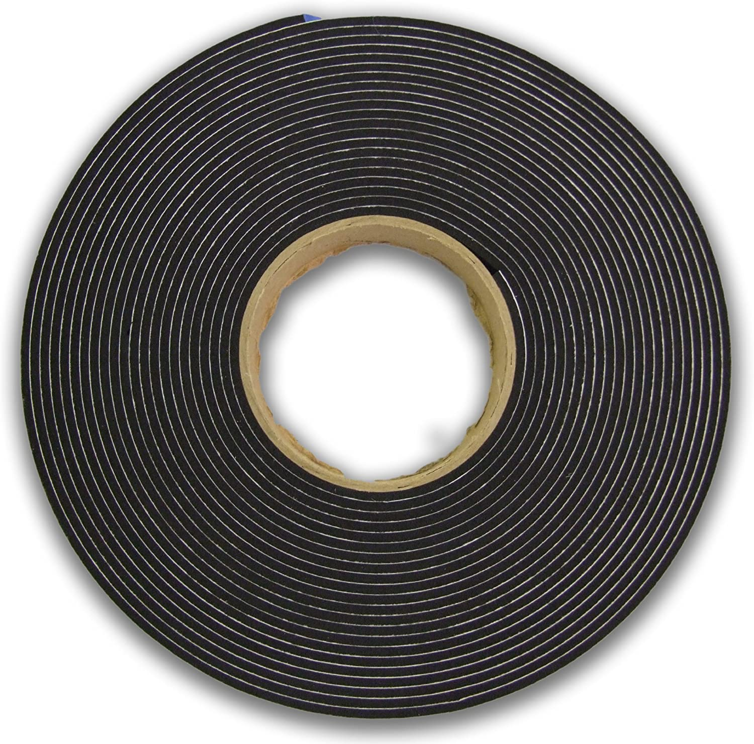 neoprene rubber self adhesive strip 15mm wide x 6mm thick x 10m long