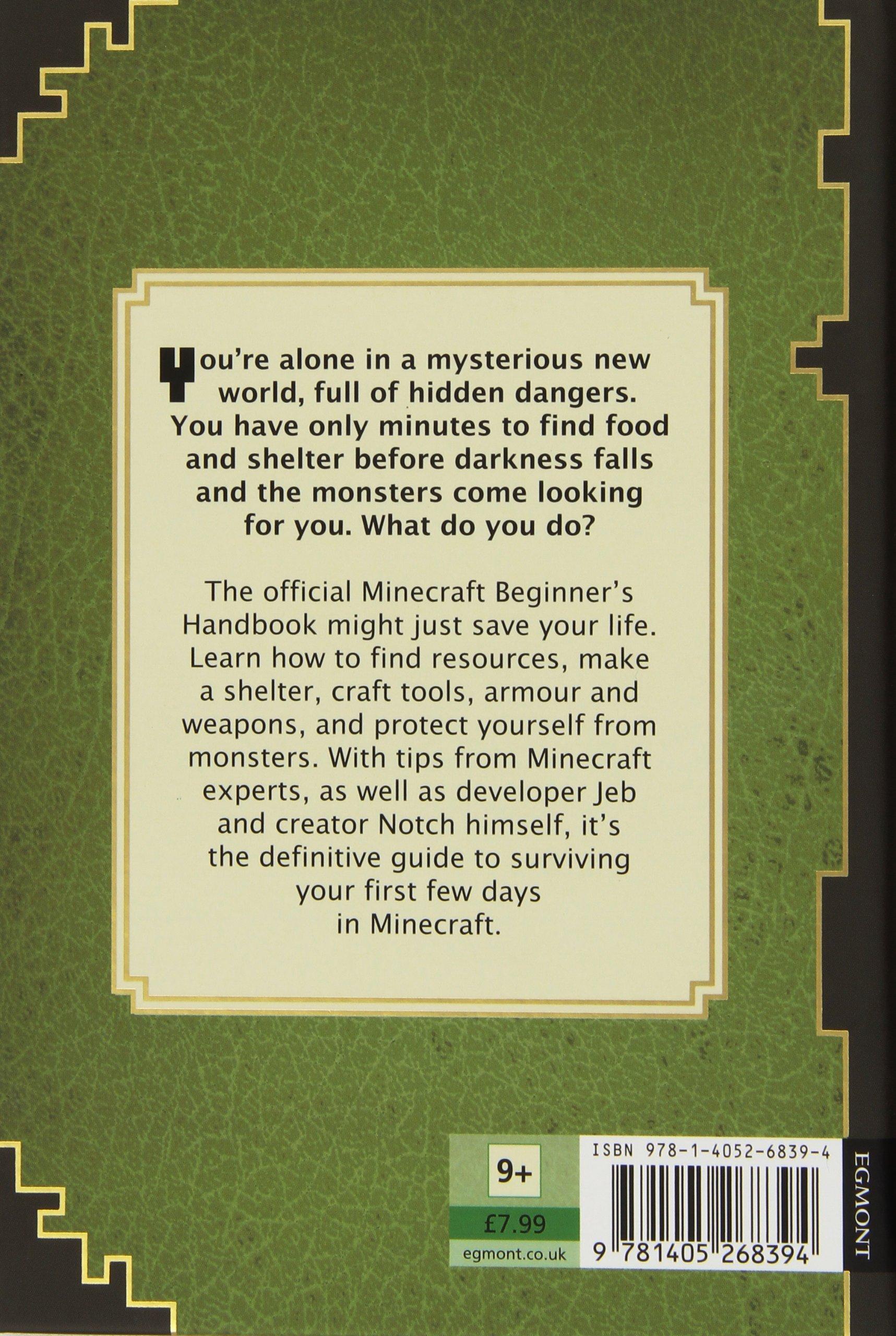 Beginners Handbook Minecraft Amazonde Fremdsprachige Bücher